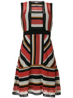 платье-миди с полоску M Missoni