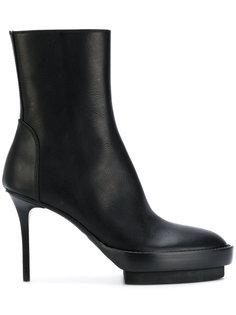ботинки на шпильке и платформе Ann Demeulemeester