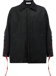 куртка с рукавами на пуговицах со шнуровкой Delada