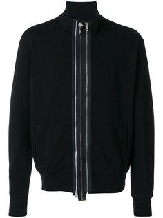 multi-zip front sweatshirt Maison Margiela
