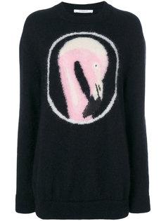 свитер с изображением фламинго Givenchy