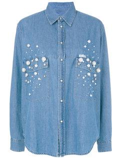 джинсовая рубашка Dyna Forte Couture