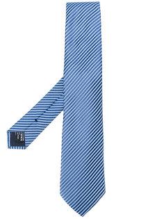 галстук в полоску Giorgio Armani