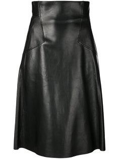 юбка А-образного кроя Alexander McQueen