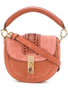 сумка с плетеной деталью Altuzarra