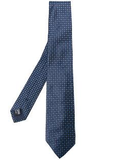 галстук с мелким принтом Giorgio Armani