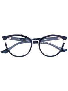 Mikro butterfly frame glasses Dita Eyewear