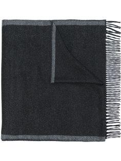 двухцветный шарф  Salvatore Ferragamo