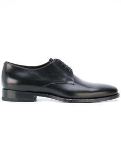 ботинки-оксфорды на шнуровке Jil Sander