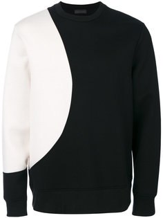 contrast panel sweatshirt  Diesel Black Gold