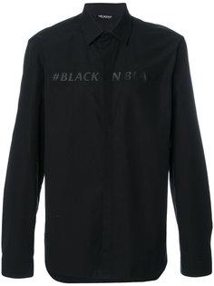 рубашка #BlackOnBlack Neil Barrett