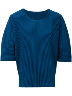 pleated detail T-shirt  Homme Plissé Issey Miyake