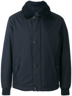 куртка с меховым воротником Z Zegna