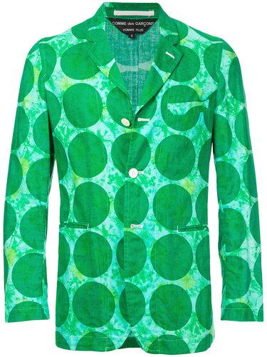пиджак с принтом Comme Des Garçons Vintage