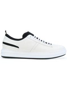 кроссовки на шнуровке Salvatore Ferragamo