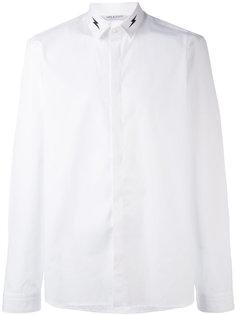 рубашка с принтом на воротнике Neil Barrett