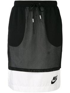 сетчатая юбка с логотипом Nike