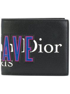 кошелек с логотипом  Dior Homme