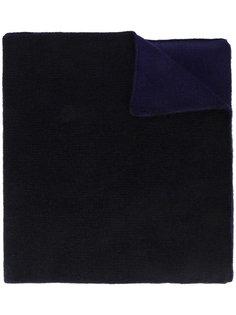 двухцветный трикотажный шарф The Elder Statesman