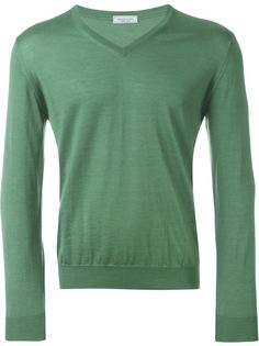 свитер c V-образным вырезом  Fashion Clinic Timeless