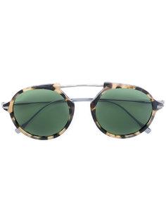 солнцезащитные очки в круглой оправе Tods Tod`S