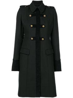 пальто с металлической отделкой Just Cavalli