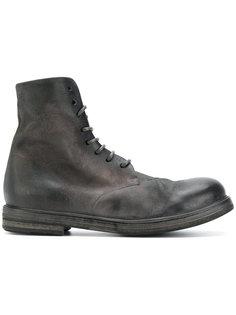 ботинки в стиле милитари Marsèll