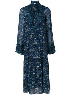 длинное платье с цветочным принтом See By Chloé