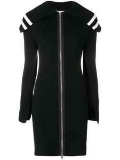 удлиненный кардиган на молнии Givenchy