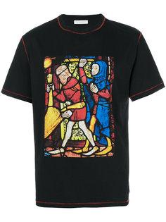 футболка с рисунком J.W.Anderson