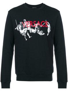 printed sweatshirt Versace