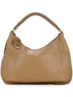 сумка на плечо с тканым ремешком  Fendi Vintage
