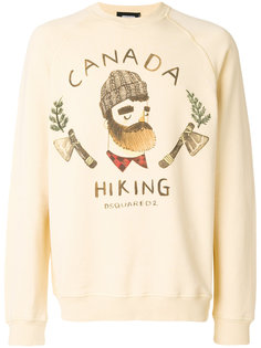 Canada Hiking sweatshirt Dsquared2