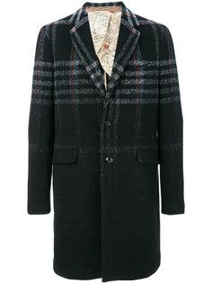 пальто миди в клетку  Etro