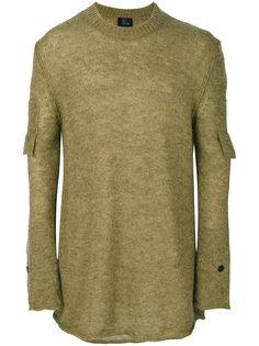 свитер с рукавами на пуговицах Lost & Found Ria Dunn