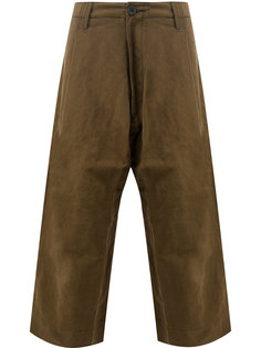 укороченные широкие брюки Ziggy Chen