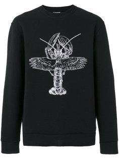 winged lobster sweatshirt Lanvin