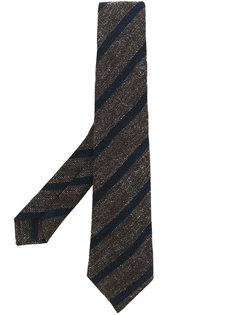 галстук в полоску  Kiton