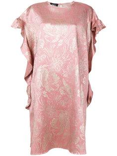 платье с цветочным мотивом Rochas