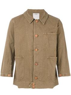 куртка с вышитым черепом  Visvim