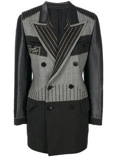 приталенный двубортный пиджак  Jean Paul Gaultier Vintage