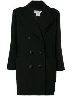 двубортное пальто  Christian Dior Vintage