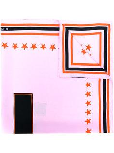 шарф с вышивкой Givenchy