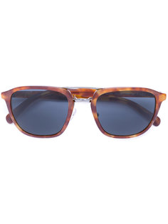tortoiseshell square frame sunglasses Prada Eyewear