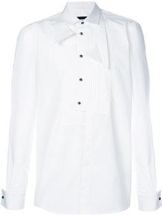 рубашка под смокинг в стиле деконструктивизма Dsquared2