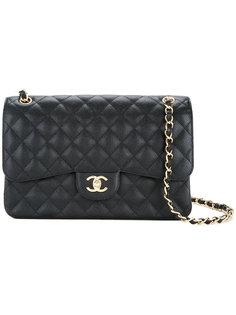 сумка на плечо CC с откидным клапаном Chanel Vintage