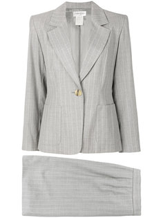 костюм в полоску с юбкой Yves Saint Laurent Vintage