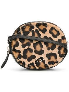 сумка через плечо с леопардовым принтом Nº21