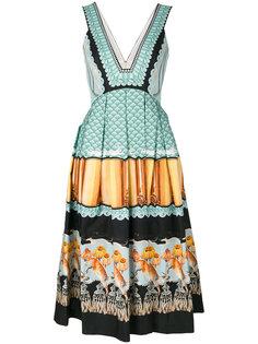 Foxglove printed dress  Temperley London