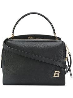 сумка на плечо с фирменной бляшкой Bally